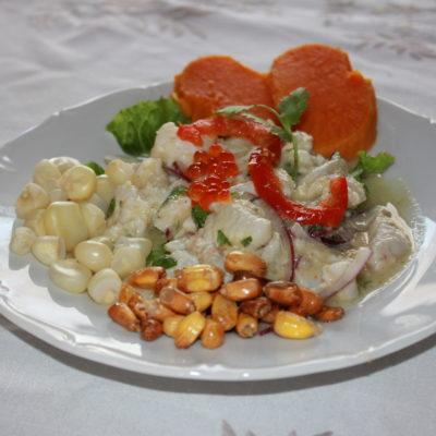 Ceviche av torsk