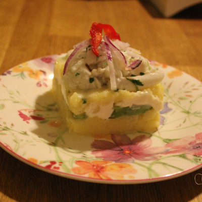 Causa med Ceviche